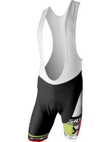 SILVINI pánské cyklistické kalhoty lacl TEAM MP839 black