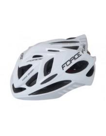 FORCE cyklo helma FUGU bílo/černá