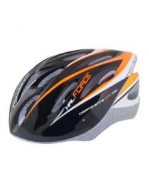 FORCE cyklo helma HAL černo/oranžová
