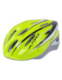 FORCE cyklo helma HAL fluo/černá
