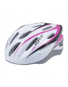 FORCE cyklo helma HAL růžová