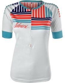 SILVINI dámský cyklistický dres STABINA WD1004 white