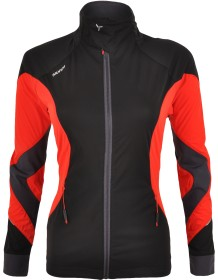 SILVINI softshell bunda dámská SERRONE WJ1102 black-red
