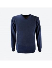 KAMA pánský svetr bez podšívky 4104 - modrý