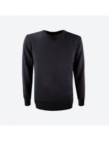 KAMA pánský svetr bez podšívky 4104 - černý
