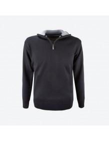 KAMA pánský svetr bez podšívky 4105 - černý