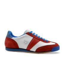 BOTAS sportovní obuv CLASSIC white-red-blue
