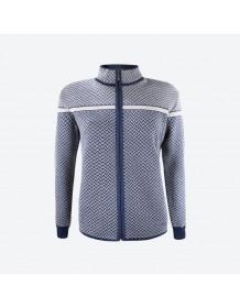 KAMA dámský svetr bez podšívky 5014 - modrý