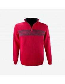 KAMA svetr bez podšívky 4052 - černý