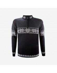 KAMA svetr bez podšívky 4053 - šedý