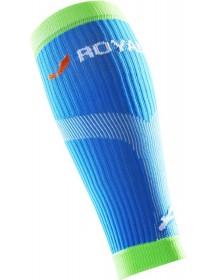 ROYAL BAY Neon kompresní lýtkové návleky modré