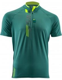 SILVINI pánské triko TURANO MD1013 olive-neon