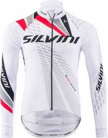 SILVINI pánské zateplený dres TEAM MD1401 white-red