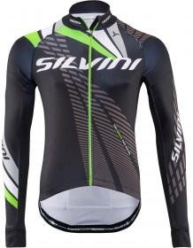 SILVINI pánské zateplený dres TEAM MD1401 black-green