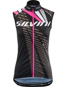SILVINI dámská vesta TEAM WJ1405 black-pink
