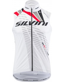 SILVINI pánská vesta TEAM MJ1404 white-red
