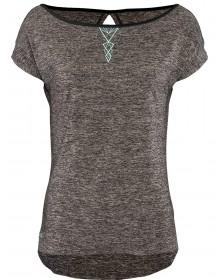 SILVINI dámské MTB triko CALCINARA WD1208 charcoal-turquoise