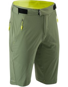 SILVINI pánské volné MTB kalhoty META MP1662 olive-lime