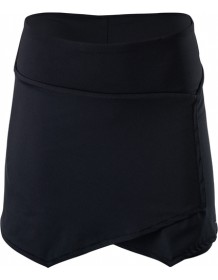 SILVINI dámská cyklistická sukně ISORNO WS1216 black-charcoal