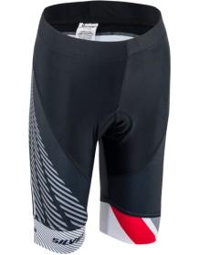 SILVINI dětské cyklistické kalhoty TEAM CP1436 green-red
