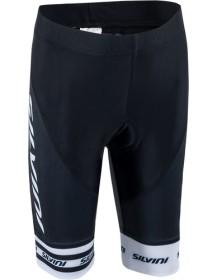 SILVINI dětské cyklistické kalhoty TEAM CP843K black-white