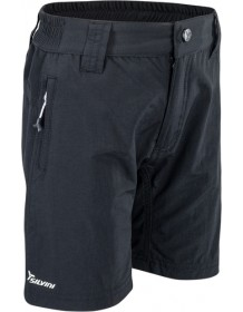 SILVINI junior MTB cyklistické kalhoty ARVO CP1631 black-neon