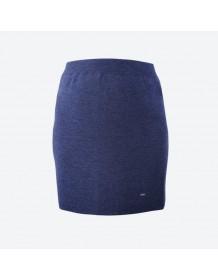 KAMA pletená sukně 6005 - modrá
