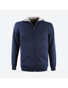 KAMA svetr bez podšívky 4107 - červený