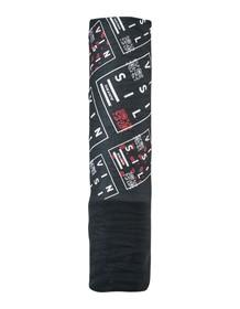 SILVINI šátek FLORIANO UA1524 BLACK-WHITE