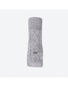 KAMA pletené návleky na ruce R402 - světle šedá