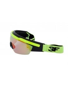 3F lyžařské brýle Xcountry II. 1746 - neon