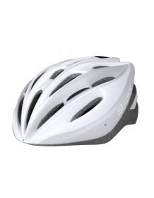 FORCE cyklo helma TERY bílo/šedá