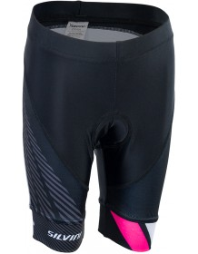 SILVINI dětské cyklistické kalhoty TEAM CP1436 black-pink