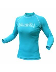 BLUEFLY triko Termo Pro dlouhý rukáv dětské - tyrkysové