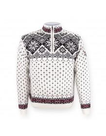 KAMA svetr bez podšívky 4082 - bílý