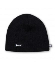 KAMA pletená čepice A02 - černá