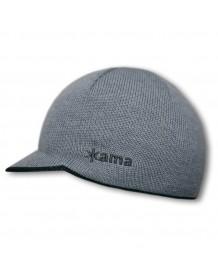 KAMA pletená čepice Gore-tex AG11 - šedá